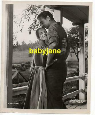 GARY COOPER PHYLLIS LOVE ORIGINAL 8X10 PHOTO  1956 FRIENDLY PERSUASION