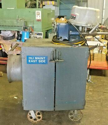 1 Used Ridgid 300 Pipe Threader Mounted On Cart W Multiple Dies Make Offer