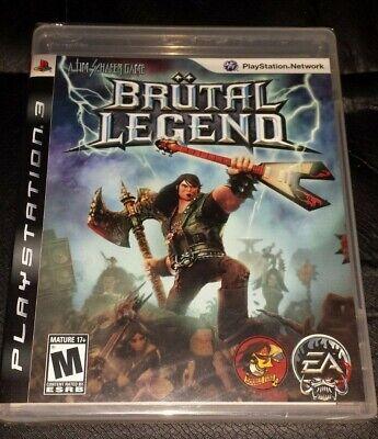 Brand New Sealed PS3 Brutal Legend Game (Sony Playstation 3, 2009) , usado comprar usado  Enviando para Brazil