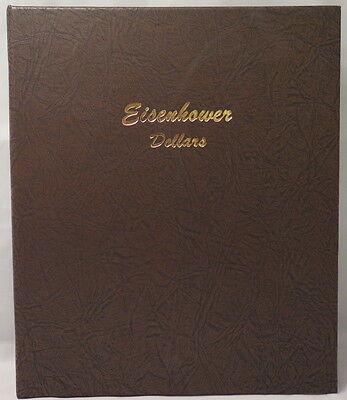 EISENHOWER DOLLARS DANSCO COIN ALBUM #7176 (1971-1978)