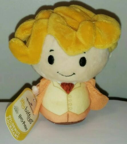Harry Potter GILDEROY LOCKHART Itty Bittys Plush by Hallmark NEW Stuffed Toy NWT