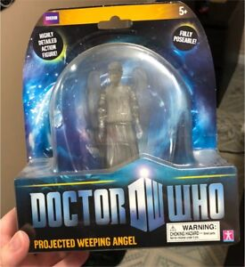 Weeping angel figure.