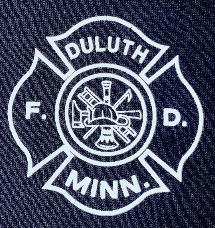 Duluth Minnesota Fire Department MN T- Shirt Sz XL St. Louis County FDNY