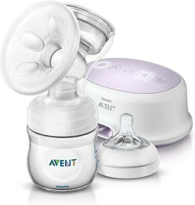 Philips Avent - Extractor de leche eléctrico, con cojín masajeador