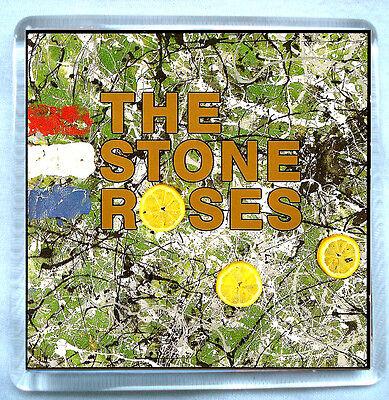 The Stone Roses- Stone Roses Fridge Magnet Ian Brown