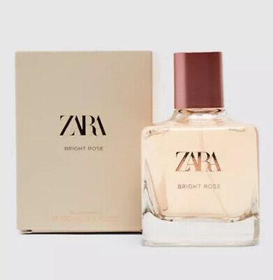 ZARA Bright Rose 100ml BRAND NEW SEALED BOX EDP Eau De Parfum