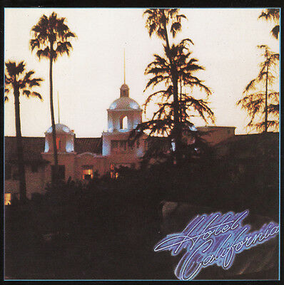 THE EAGLES - Hotel California Album Cover Art Print Poster 12 x 12