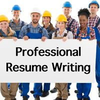 Resumé Writing for Trades, Construction, Oil & Gas!