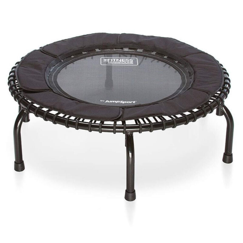 JumpSport 250 In Home Cardio Rebounder Mini Trampoline and DVD, Black (Used)