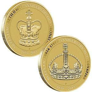 NEW Perth Mint The Queens' Coronation 2013 Stamp & Coin Cover