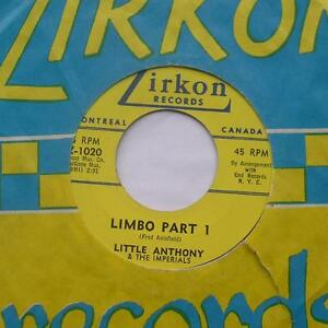 LITTLE-ANTHONY-amp-THE-IMPERIALS-Limbo-Part-1-amp-2-CANADA-ORIG-039-60-ZIRKON-45-sleeve