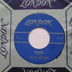 LES-MILLION-AIRS-Encore-Un-soir-FREAKBEAT-FRENCH-1965-GARAGE-Canada-45-LISTEN