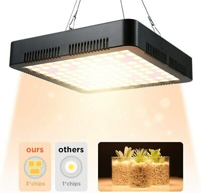 1000W LED Grow Light Sunlike Full Spectrum Veg Flower Indoor Plant Hydroponic