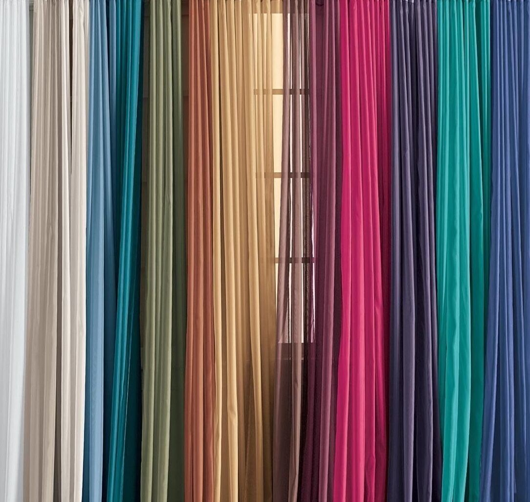 """Lovely Solid One Panel Sheer Curtain Window Drape 54"""" x 84"""""""