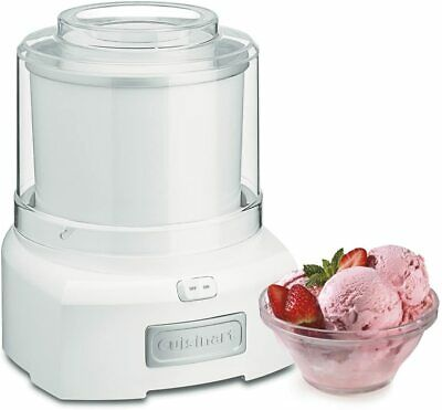 Cuisinart 1.5 Quart Frozen Yogurt Ice Cream Sorbet Maker - White