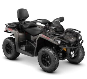 2018 Can-Am Outlander MAX XT 570 Br New Cond Only 25 Hrs