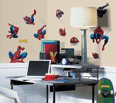 RoomMates RMK1045SCS Amazing Spider-Man Peel & Stick Wall Decals Amazing Spider Man Peel