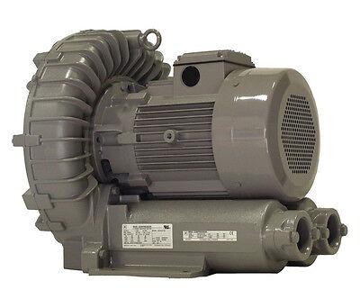 Vfz701a-7w Fuji Regenerative Blower 6.7 Hp 208-230460 Volts
