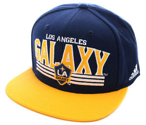 MLS-Soccer-Los-Angeles-Galaxy-Hat-Bill-Snap-Back-Ball-Cap