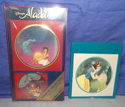 Walt Disney's Aladdin Soundtrack OST CD Collector's Series Box 90s Snow White