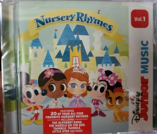 New: DISNEY JUNIOR MUSIC - Nursery Rhymes Vol. 1 CD