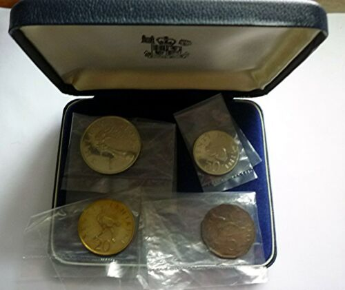 1966 TANZANIA - FIRST OFFICIAL PROOF SET (4) - ROYAL MINT - PS1 - BEAUTY