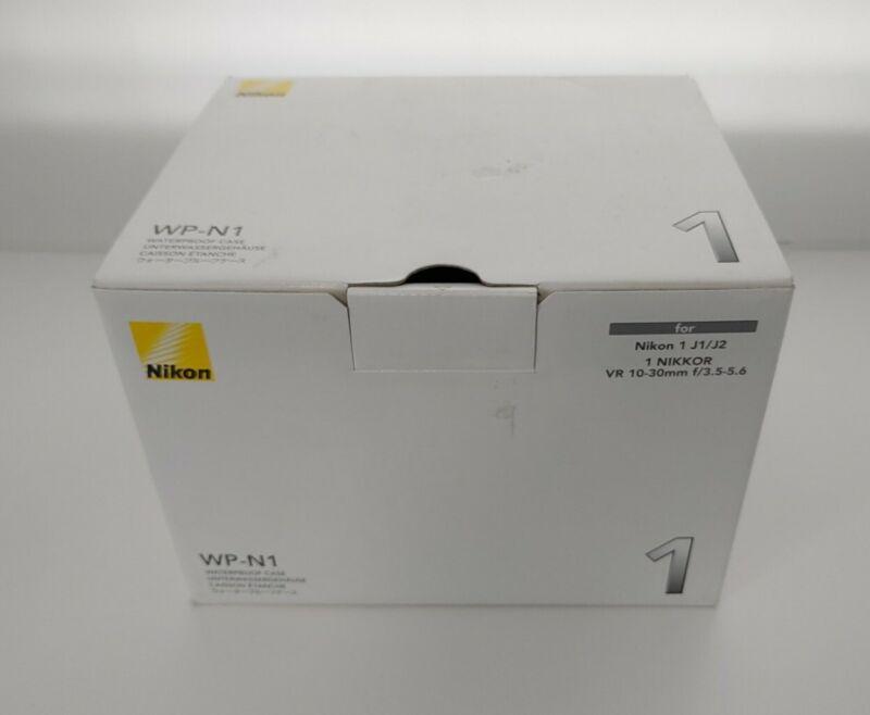Nikon WP-N1 Waterproof Case for Nikon 1 J1 & J2 Cameras - Excellent Condition