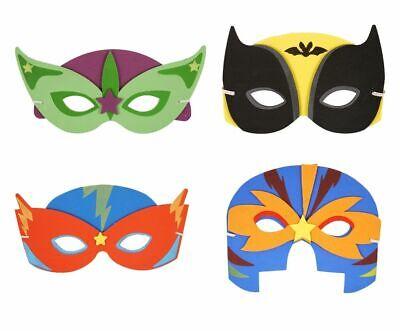 SUPER HERO MASKS Adult Kids Cosplay Fancy Dress Party EVA Foam - Foam Superhero Mask