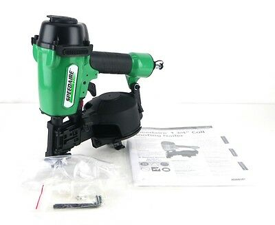Speedaire Roofing Roof Nailer Nail Gun 34 To 1-34 Pneumatic Air Coil 3evp7