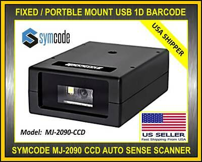 Symcode Mj-2090 Ccd Usb Auto Laser 1d Barcode Scanner Reader Cell Phone Portable