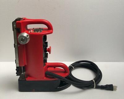 Milwaukee Electro-magnet Adjustable Position Drill Press Base 120v
