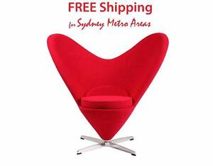Clearance SALE - Verner Panton Style Heart Cone Chair Zetland Inner Sydney Preview