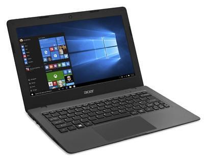 Acer Aspire One Cloudbook, 11-Inch HD, 32GB, Windows 10, Gray (AO1-131-C9PM) ...