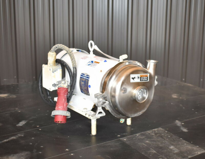 SPX WAUKESHA CENTRIFUGAL PUMP MODEL 2065LV