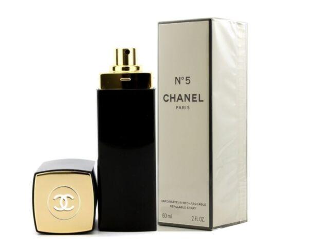 Chanel No.5 Eau de Parfum 60 ml Refillable/Nachfüllbar Neu & originalverpackt