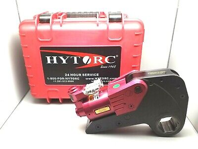 New Hytorc Xlct-8 Limited Clearance Hydraulic Torque Wrench With Carrying Case