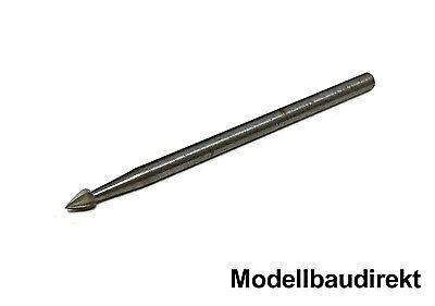 1 Stück Fräser Flamme 2,3 x 3,5 mm mit 2,35 mm Schaft Hobby Drill / Muldental