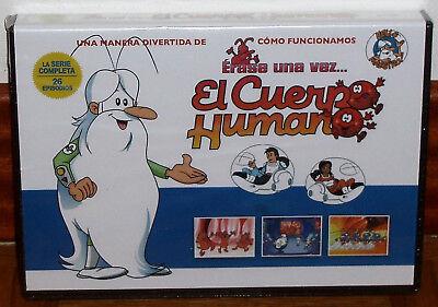 ERASE UNA VEZ EL CUERPO HUMANO LA SERIE COMPLETA 5 DVD PRECINTADO...