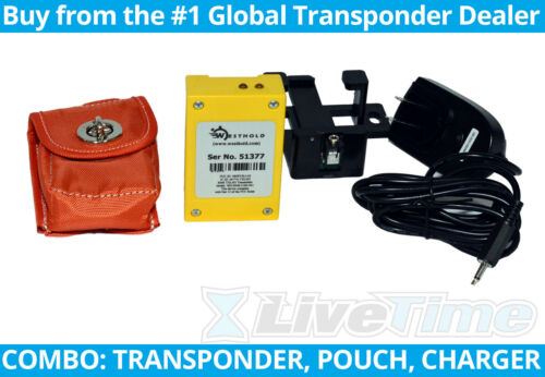 Westhold Rechargeable Transponder Kit/Combo with Charger and Pouch (RACEceiver)