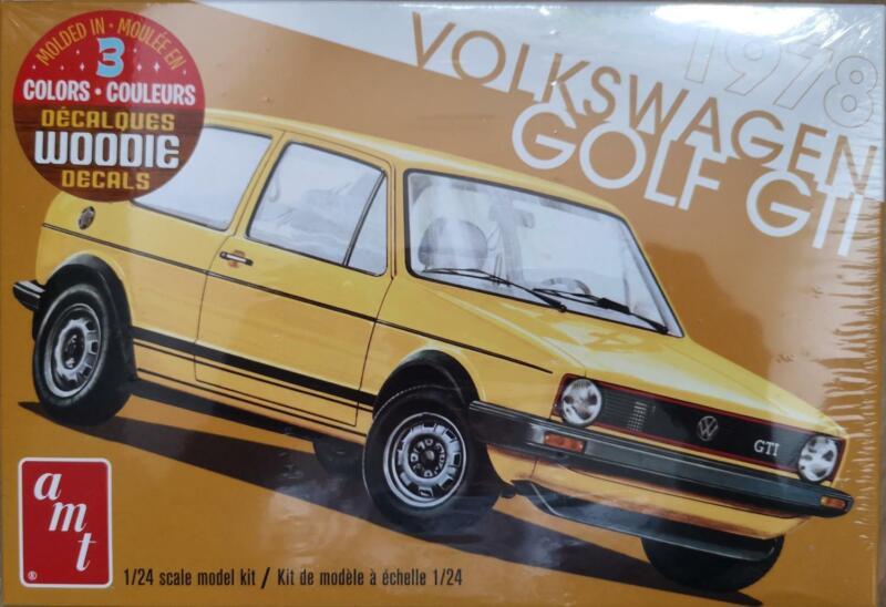 AMT 01213 VW Golf GTI 1978   1:24