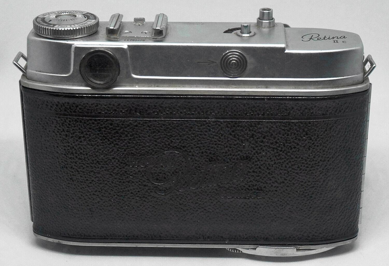 Kodak Retina IIc Rangefinder Camera W/ 50mm F/2.8 Schneider Sold AS IS  - $95.00