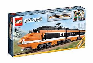 Brand New, sealed in box, LEGO Horizon Express 10233 OOP Torrens Woden Valley Preview