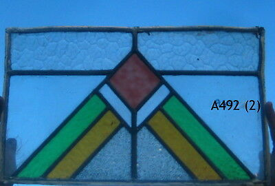 A492 Art deco Stained Glass