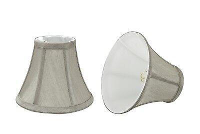 Aspen Creative 30033-X Bell Mini Chandelier Clip-On Lamp Sha
