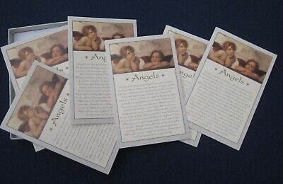 RAPHAEL SISTINE MADONNA ANGELS ART NOTE CARDS Lot of 6 by PORTAL Vintage 1993