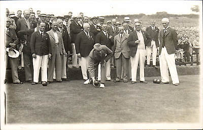 Brecon photo. Bowls Match by J.Clark, 13 High St.,Brecon.