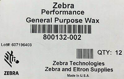 5319 Wax Ribbon - Zebra 800132-002 Wax Ribbon 2.24in x 242ft 5319 0.5in core Thermal Transfer 12RL
