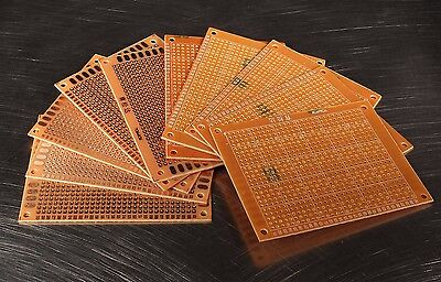 10 Pcs 9x7cm PCB Prototyping Perf Boards Breadboard USA Seller