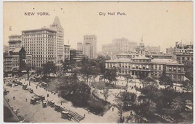 City Hall   Skyscrapers  Nyc