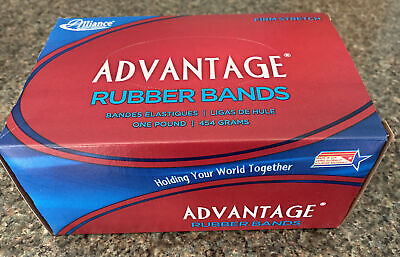 Alliance Advantage Rubber Bands 32 1 Lb Approx. 700 3 X 18 Red 96325